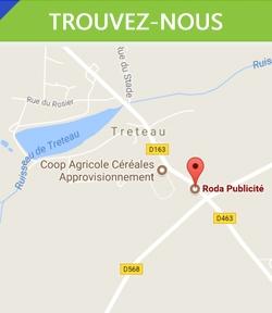 Adresse de Roda Publicité